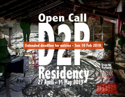 D2P residency for Drawing Performance, May 2019