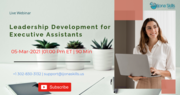 Leadership Development for Executive Assistants