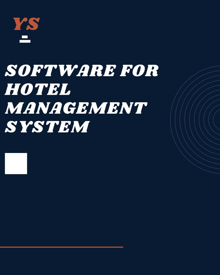 PMS Software | Software For Hotel Management System