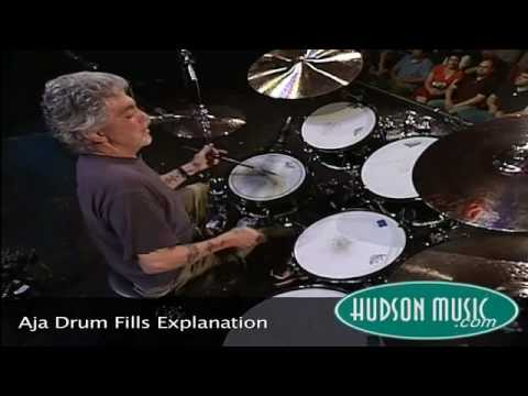 Steve Gadd - Aja Drum Fills!