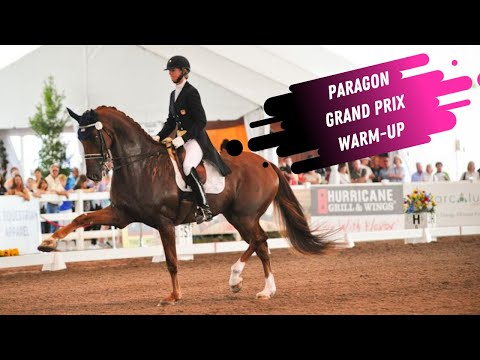 Heather Blitz & Paragon Grand Prix Dressage Warm-Up