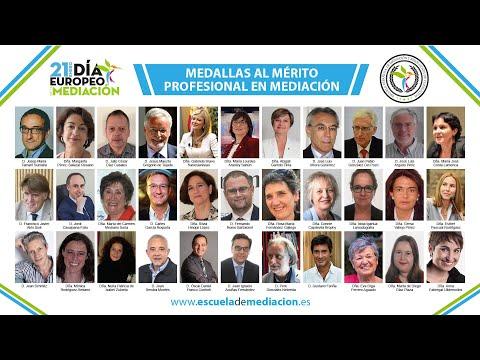 Gala medallas merito mediacion 2021