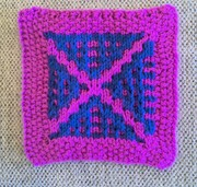 Knitted Mosaic Pattern