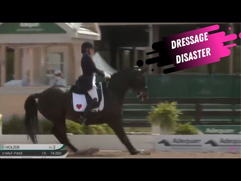 Dressage Disaster: Valetine Loses Heart