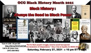 """""""Black History: Always the Road to Black Power"""""""