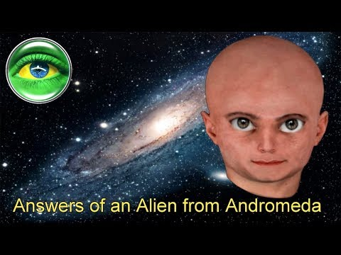 160 - ANSWERS OF AN ALIEN FROM ANDROMEDA
