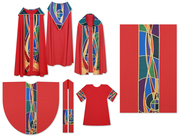 Festive Red Vestment Collection