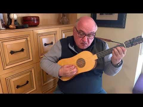 Fantasie #2 by Albert de Rippe for Renaissance Guitar