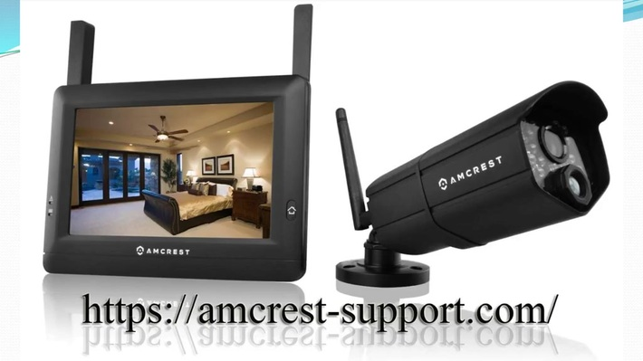 How to contact us to setup amcrest camera?