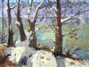 Winter Trees 18x24