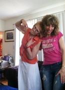 My dearest friend Kath and I