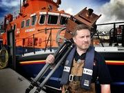 Jack Lowe at Castletownbere RNLI