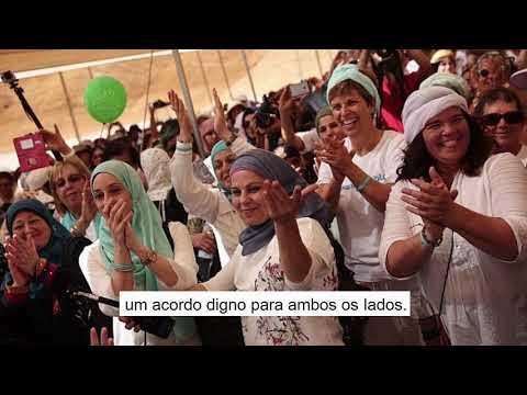 Mulheres brasileiras árabes e judias apoiam o movimento Women Wage Peace.
