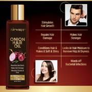 Choose Onion Hair Oil For Managing Hair Fall Problem