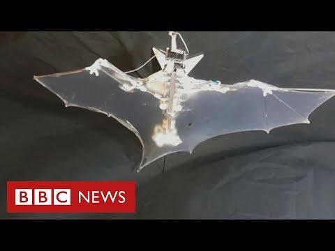 O 'morcego-robô' criado para explorar lugares pequenos e perigosos