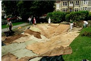 1993 August pond construction 13