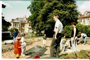 1993 August pond construction 12