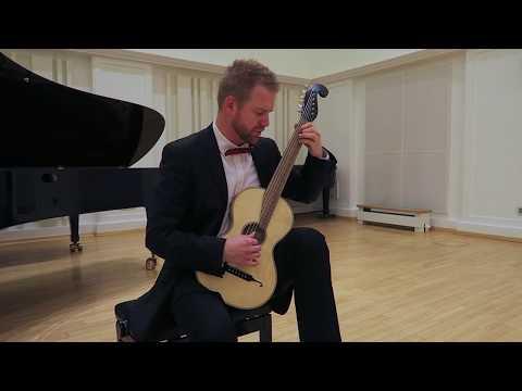 Luigi Legnani - 36 Caprices, op. 20 - selection | performer Karol Samuelčík | guitar Martin Okenica