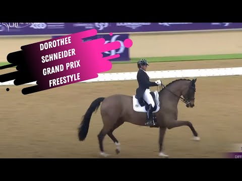 Dorothee Schnieder & Faustus Score 81.9% In The Grand Prix Freestyle!