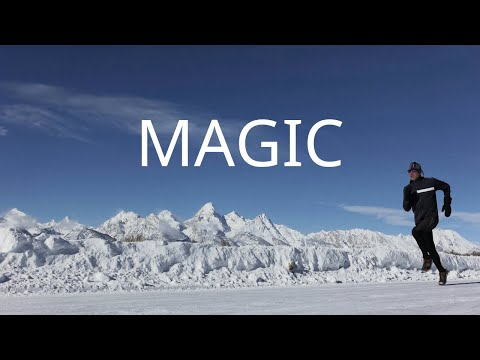 The Magic of Running | heart rate | Winter Running in Jackson Hole