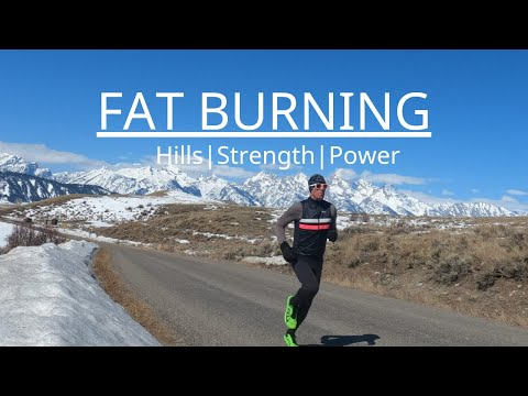RUNNING - Fat Burning: Hills|Strength|Power (keto/low carb)