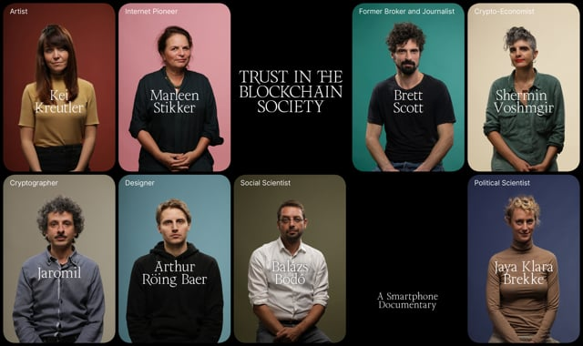 Trailer - Trust in the Blockchain Society