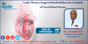 Dr Girinath M R Cardio Thoracic Surgeon RelentlesslyRaise the Standards of Care InHeart Disease