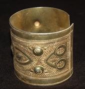 DSC_0874 Libyan silver bracelet-Gilded silver.