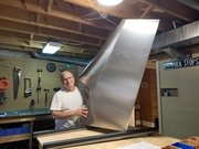 Completed Rudder Assembly
