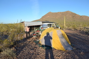 Arizona Desert Camp