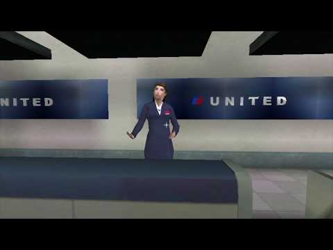 Virtual Reality Air Travel Training (Spanish) - Interactive Media Institute
