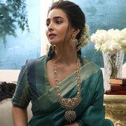 Nakshatra CZ Long Necklace Set