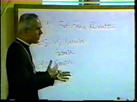 Bishop Richard Williamson - Session 4 (1996 Doctrinal Sessions, From Christ to Antichrist)