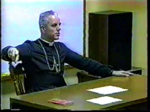 Bishop Richard Williamson - Session 5 (1996 Doctrinal Sessions, Influence of Freemasonry)