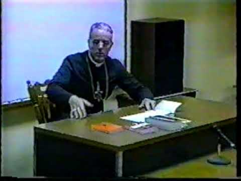 Bishop Richard Williamson - Session 6 (1996 Doctrinal Sessions, Influence of Freemasonry)