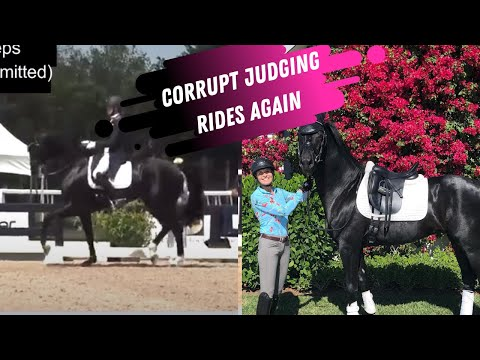 Corrupt Judging Rewards Bad Riding: Karen Pavicic 'Snatched' Another Win