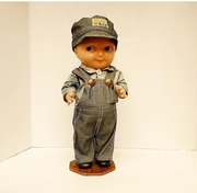 Buddy Lee Advertising Doll H.D. Lee Jeans Union Made
