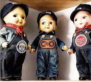 Vintage Composition Buddy Lee Advertising Dolls