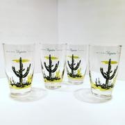 Vintage Blakely Oil Cactus Glassware