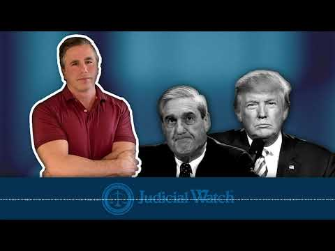 Tom Fitton: Mueller is Illicitly Targeting & Harassing President Trump--DOJ Must Shut it Down