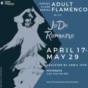 Ballet Hispánico School of Dance Virtual Adult Flamenco Classes Registration Now Open