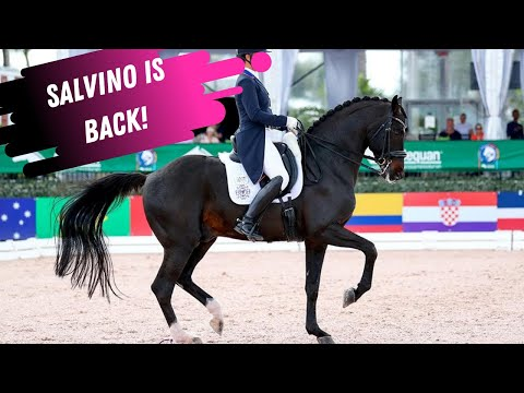Salvino Is Back! Watch Adrienne Lyle's SPECTACULAR Personal BEST 80% Grand Prix!