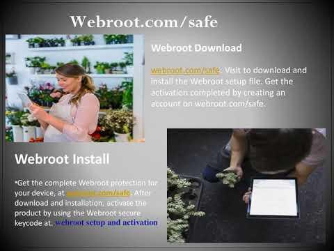webroot.com/safe,  webroot setup and activation, webroot Activation code,