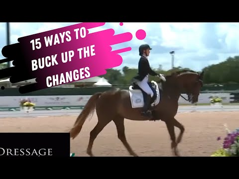15 Ways To Buck Up The Flying Changes In Dressage