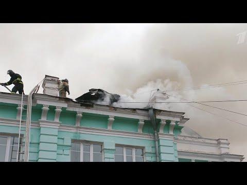 В Благовещенске во время пожара в кардиоцентре врачи продолжили проводить операцию пациенту.