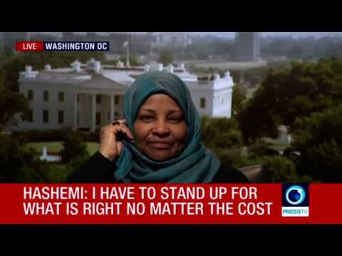 Marzieh Hashemi's ending of first interview after being released from US custody (Ending)