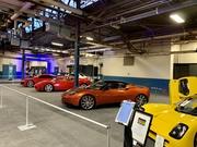 Dale Murray's Evora at PA Auto Show