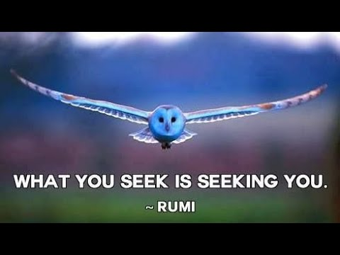 Rumi (1) Selected Verses and Poetry for Meditation - Sufi Mysticism