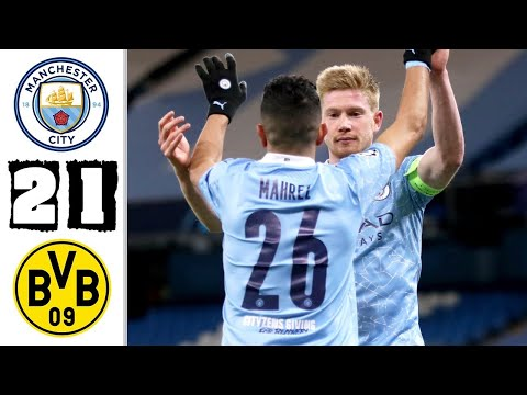 Manchester City vs Borussia Dortmund 2−1 - Extеndеd Hіghlіghts & All Gоals 2021 HD