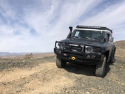 Off-roading in Joshua Tree